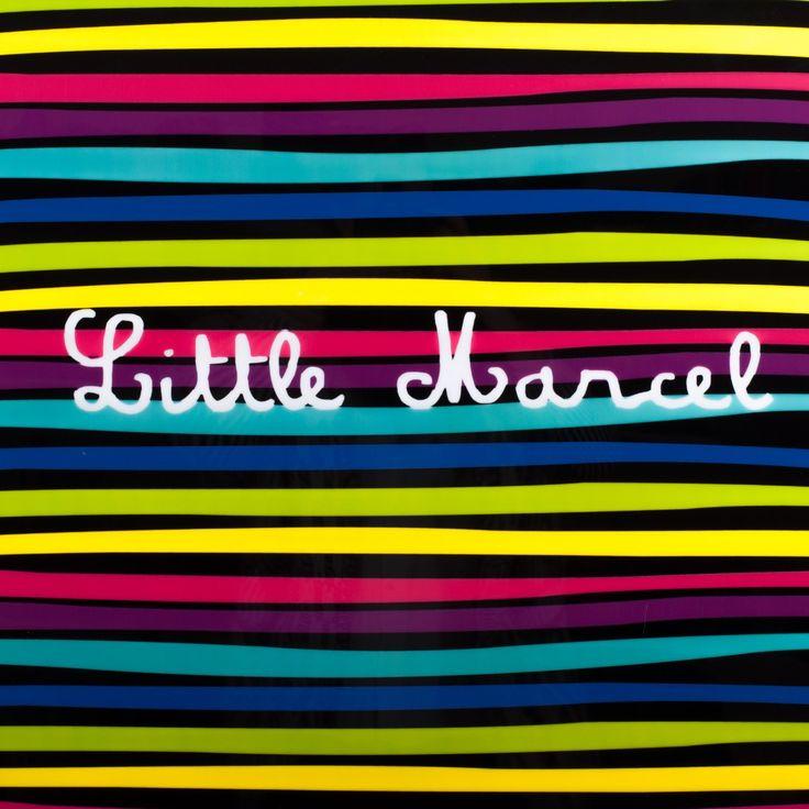 Valise en polycarbonate Little Marcel Zebras