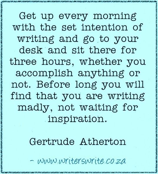 Quotable - Gertrude Atherton - Writers Write