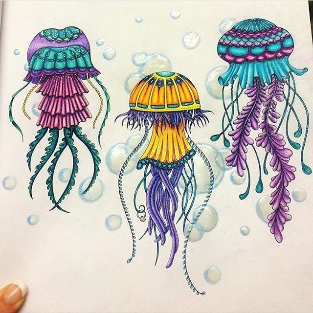 261 Best All Color Johanna Basford Images On Pinterest