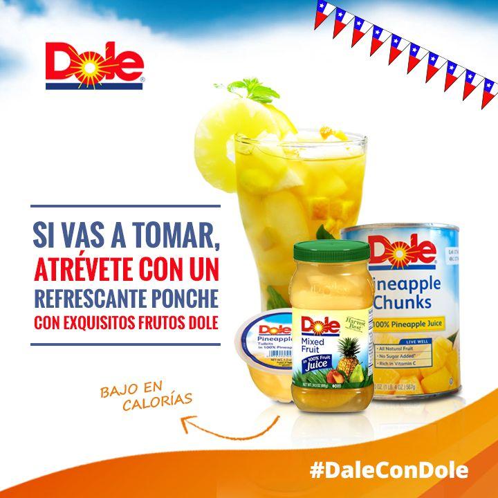 Dale con un cocktail distinto #DaleConDole