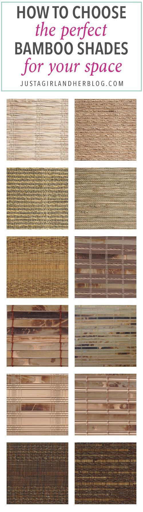 Home- How to Choose Bamboo Shades, window treatments, shades, blinds, wood shades, woven wood shades, SelectBlinds
