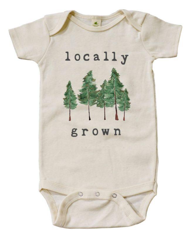 'Locally Grown' Onesie | Mini & Meep on Etsy