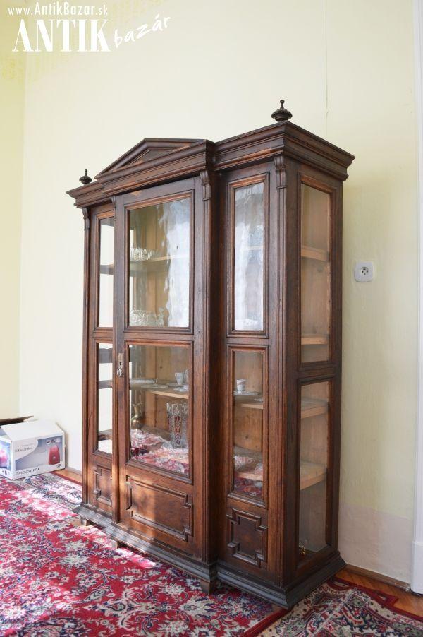 Antik Bazár Sk | vitrínová skriňa - Predaj