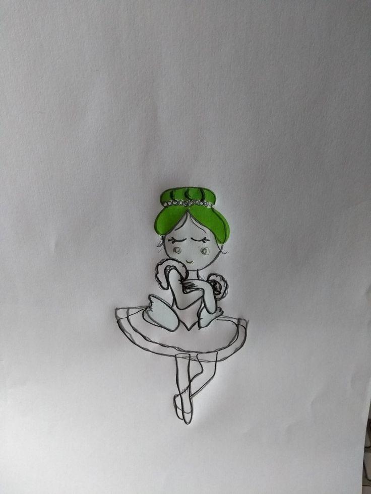Boceto ballarina fer en dibuix vectorial i llàpiç, igual una manera rara de fer bocetos pero es la que millor en funciona. **** Boceto bailarina en dibuji vectorial y lápiz, igual una manera rara de haver bocetos pero es la que mejor me funciona.  #boceto #dibujo #dibuix #bailarina #ballet #ilustración #il•lustracio #llima_plena