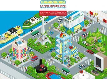 La historia de los videojuegos se cuenta en París-VideoGame Story está abierta hasta el 7 de septiembre en la Porte de Versailles, en París.