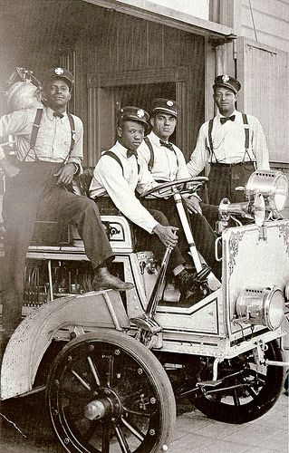 Hose Company No. 4 | 1919  African American fire fighters stationed at Hose Company No. 4, Los Angeles, CA: American Firefighters, American History, Africans American, The Angel, Fire Fighter, Hose Company, Black History, History Album, Firefighters Museums