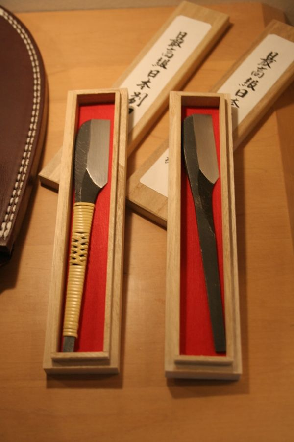 Japanese Straight Razor - would def love to learn how to shave a man with a straight razor
