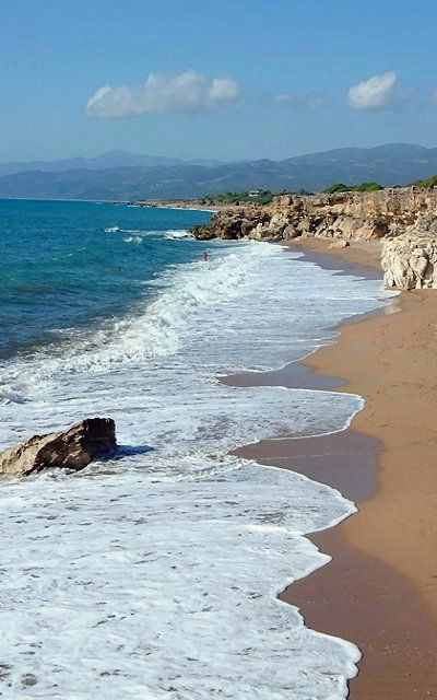 Kartela beach - Kyparissia bay, Messinia (Peloponnese), Greece