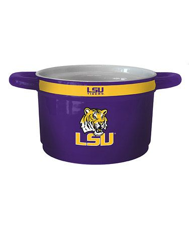 Loving this LSU Tigers Game Time Bowl on #zulily! #zulilyfinds