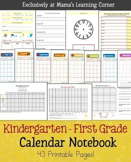226 best Edu - Morning Work - Calendar images on Pinterest - calendar templates for kindergarten