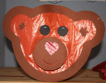 Bärenlaterne aus Tonkarton Druckversion@creadoo -Die Nr.1 in kreativer Freizeit!
