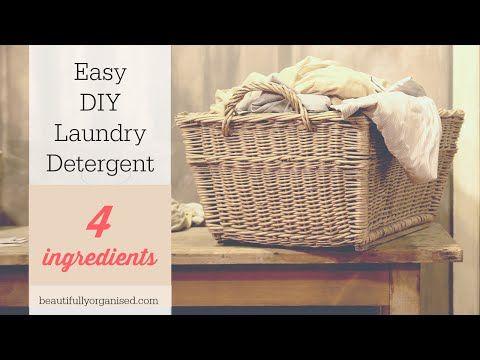 Beautifully Organised: Easy DIY laundry Liquid - 4 ingredients