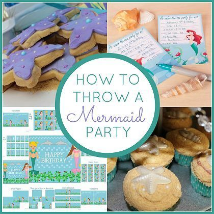 How to Throw a Mermaid Party #mermaid #party
