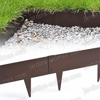 Les 25 meilleures id es de la cat gorie bordure de jardin for Bordure de jardin en metal