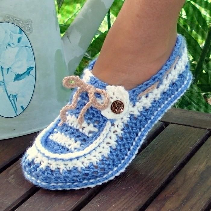 Adult and Kids Button Loafers Pattern 16
