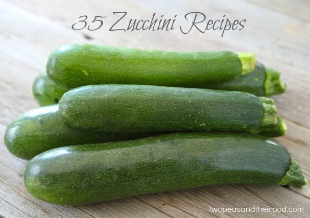 35 Zucchini Recipes from @Maria (Two Peas and Their Pod) This is going to be so handy for zucchini season!