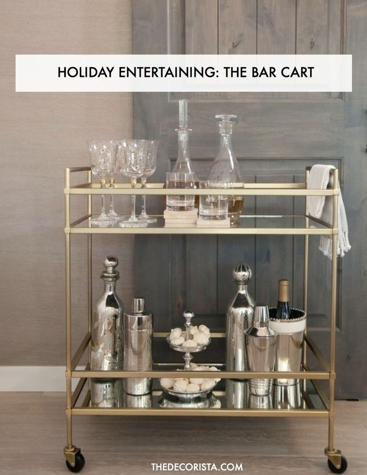 I am supremely honored that DASH Houston has asked me to be a judge for the Holiday bar cart challenge this evening. You can check out the details here . I'll be judging a group of Houston's hottest bloggers as they style up their perfect bar cart. Lately I am loving the look of a clean and classic vibe. This gold bar cart from West Elm looks fantastic with mercury glass and silver bar accoutrements. Have you set up your bar cart for the holidays yet? Now is the time! When preparing f...