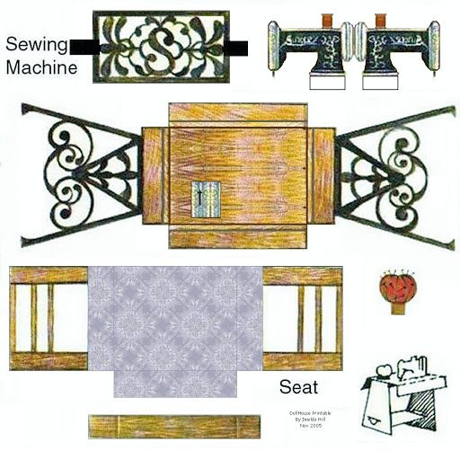 Best Dollhouse Wallpaper Paste: 422 Best Images About Doll House Printables On Pinterest
