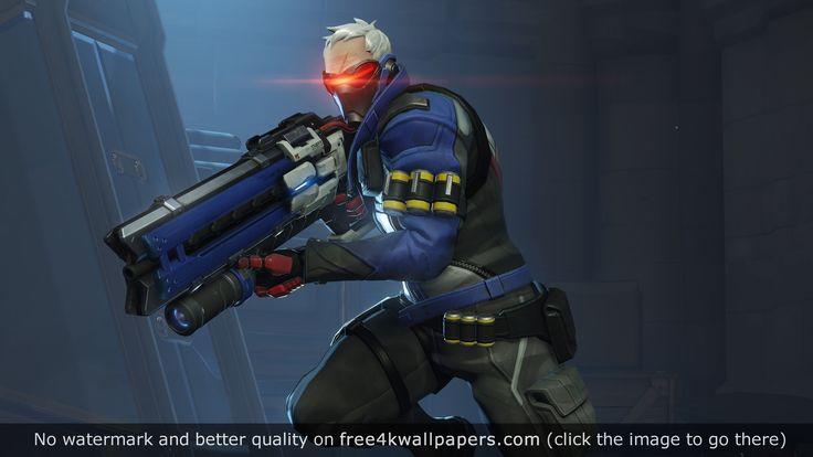 Overwatch Soldier 76 wallpaper