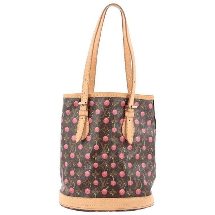 Louis Vuitton Bucket Bag Limited Edition Cerises