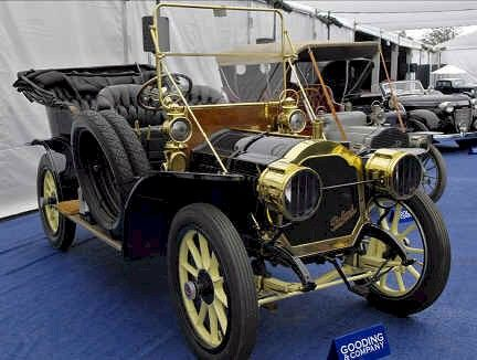 1910 Atlas Model H Atlas Motor Car Co. Springfield, Mass. 1905-1912