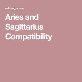 Aries and Sagittarius Compatibility
