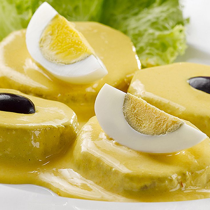 Papa a la Huancaina Recipe. Find more Peruvian recipes at http://www.perualacarte.com