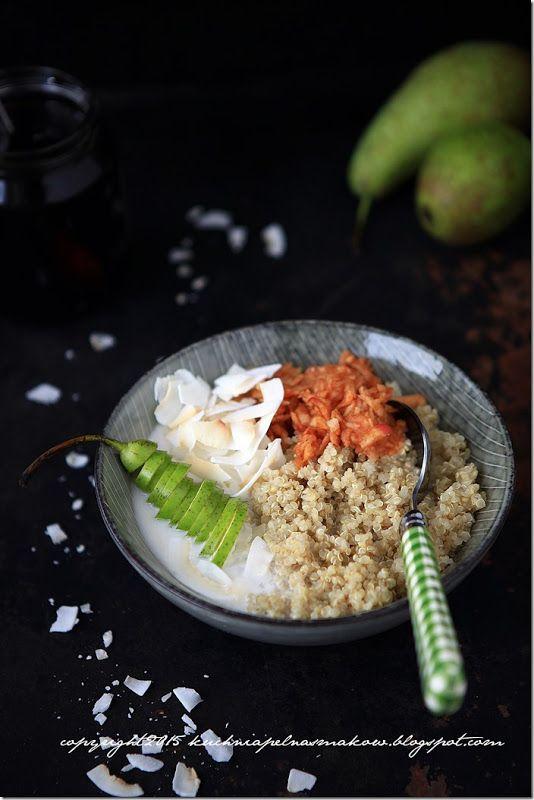 Quinoa - śniadanie