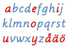 montessori alphabet template