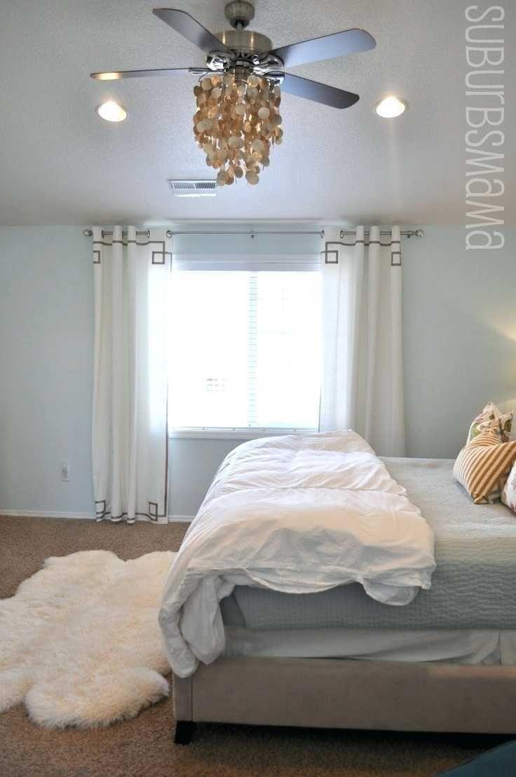 Beeindruckende Schlafzimmer Deckenventilator Größe