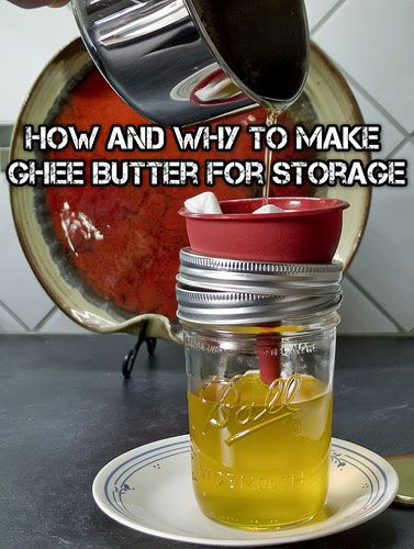 How And Why To Make Ghee Butter - SHTF Preparedness - SHTF Preparedness