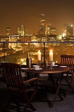 Stunning London penthouse apartment.