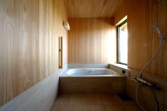 野辺山の家 浴室 益子義弘