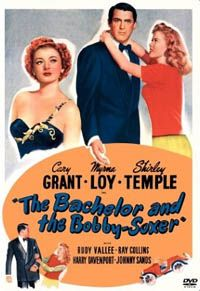 The Bachelor and the Bobby-Soxer is a 1947 American comedy (with elements of screwball comedy) directed by Irving Reis. The screenplay was written by Sidney Sheldon. The film stars Cary Grant, Myrna Loy, and Shirley Temple in a story about a teenager's crush on an older man. The film was a critical success. Sheldon won an Academy Award for the clever screenplay.
