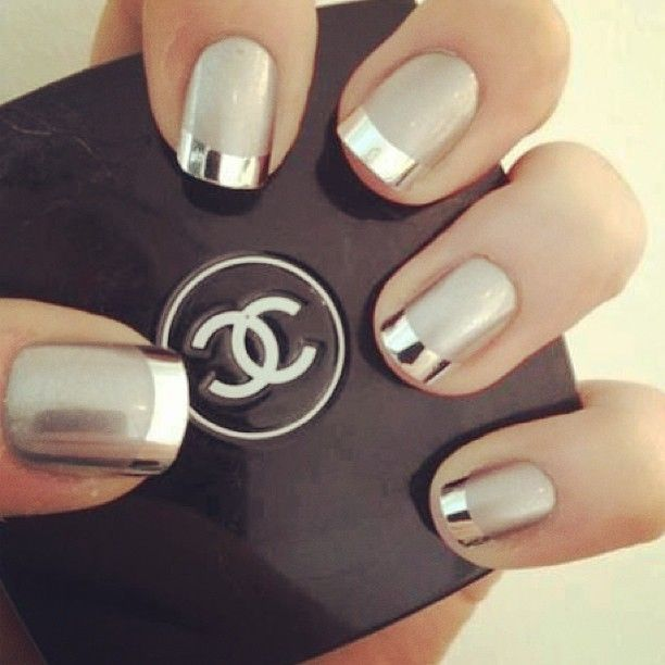 Silver-tipped Nails
