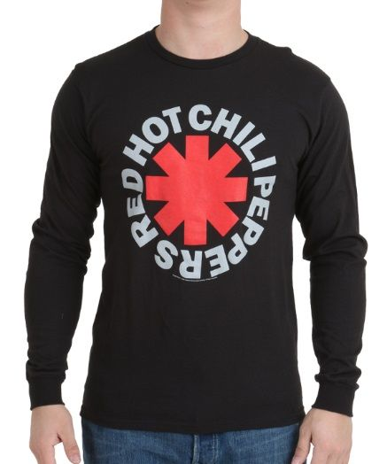 Red Hot Chili Peppers Asterisk Long Sleeve Shirt  #RedHotChiliPeppers #Asterisk #LongSleeve #Shirt #rhcp