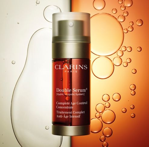 Clarins Double Serum - Hydrating, nutritous and protecting. #Skincare #Nordstrom #Beauty
