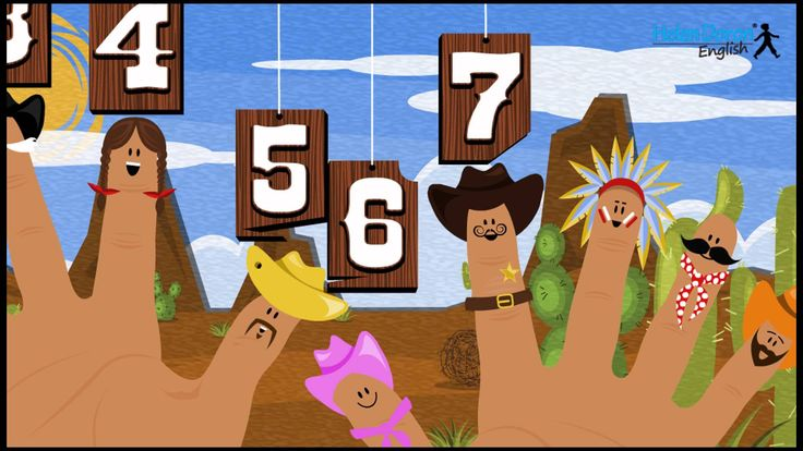 I Have Ten Fingers! | Counting Songs in English for Children