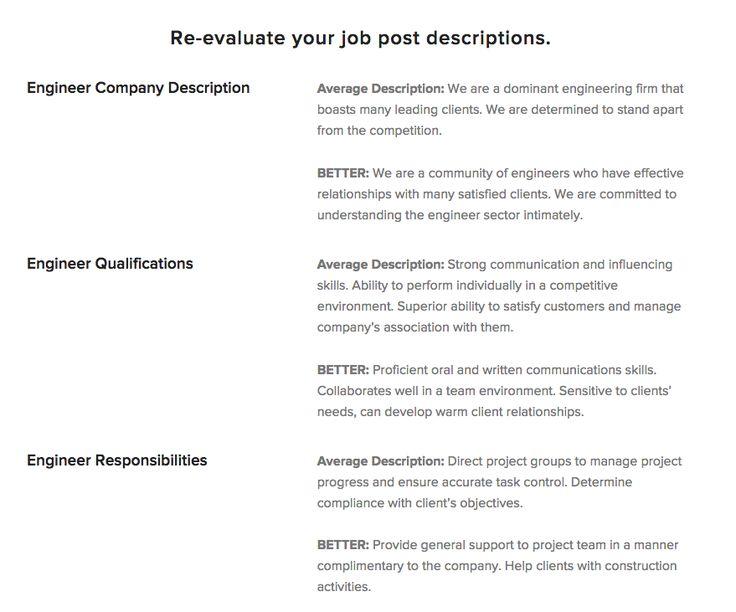 155 best Management and Productivity images on Pinterest - engineer job description