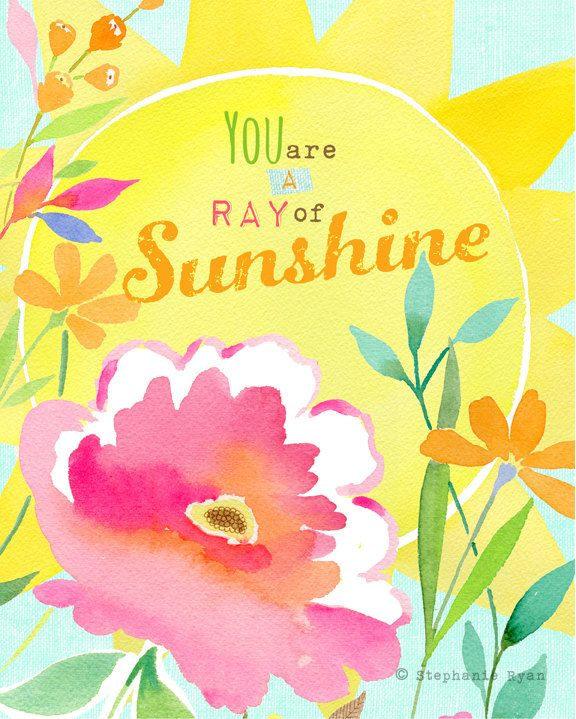 Good Morning Sunshine Letter : Best art by stephanie ryan images on pinterest