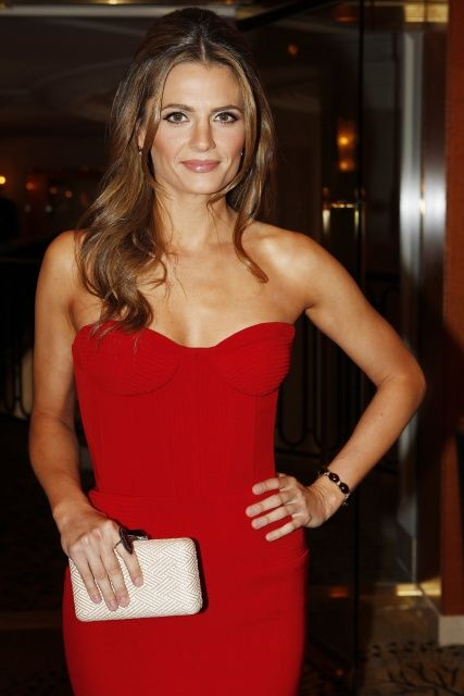 Stana Katic { Consulate General of Canada Luncheon to Celebrate Canadian Oscar Nominees in Beverly Hills Feb 2013 (click through for more pics)