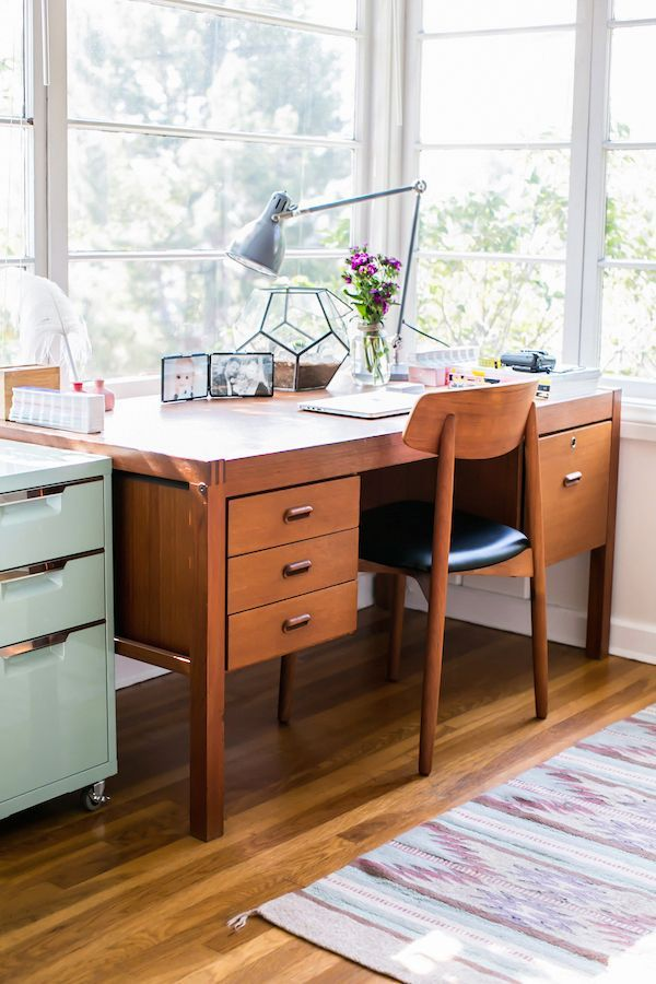 emily wassallu0027s sleek silver lake home office makeover