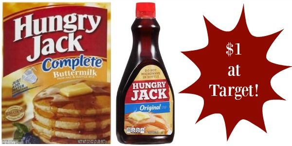 Target: Hungry Jack Products Only $1!