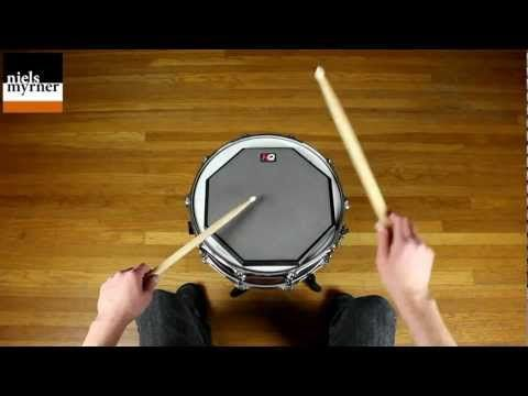 Double Stroke Roll - Drum Rudiment Lesson - YouTube