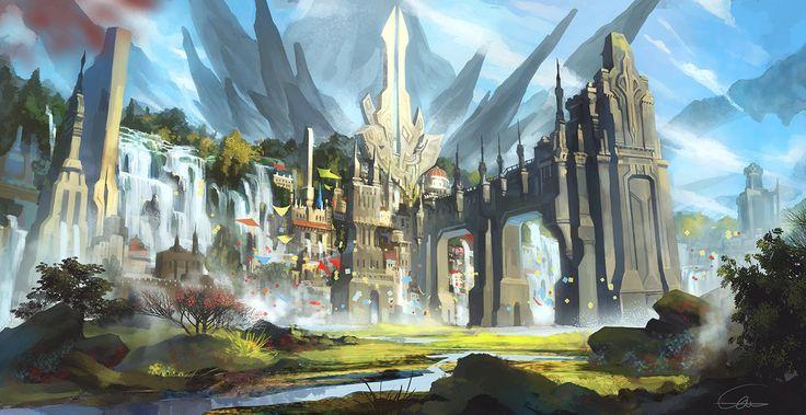 A Castle by Ultraman0716chen