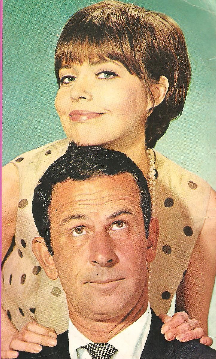 Get Smart's Agent 99 and Agent 86, Barbara Feldon and Don Adams.