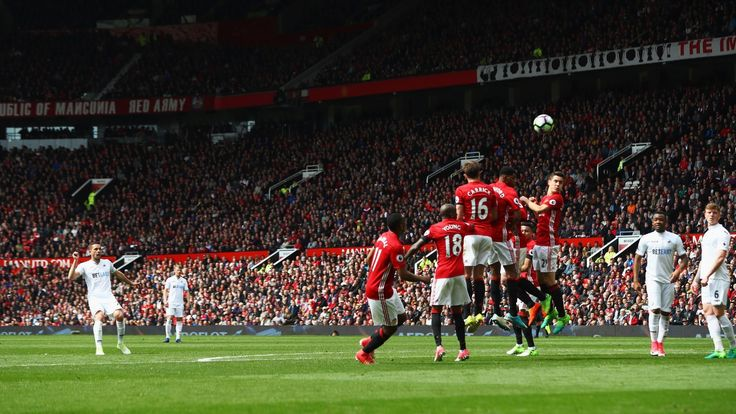 Man United 1-1 Swansea: 10th draw of the season at Old Trafford