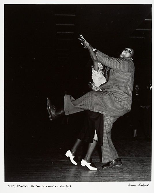 Savoy Dancers - Harlem Document  Aaron Siskind