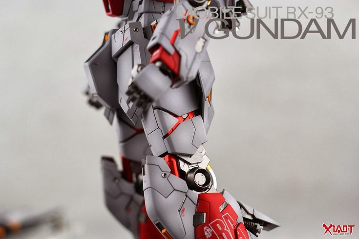 MG 1/100 RX-93 Nu Gundam Ver.Ka 'Red Psycho Frame' - Painted Build   Modeled by Jon-K