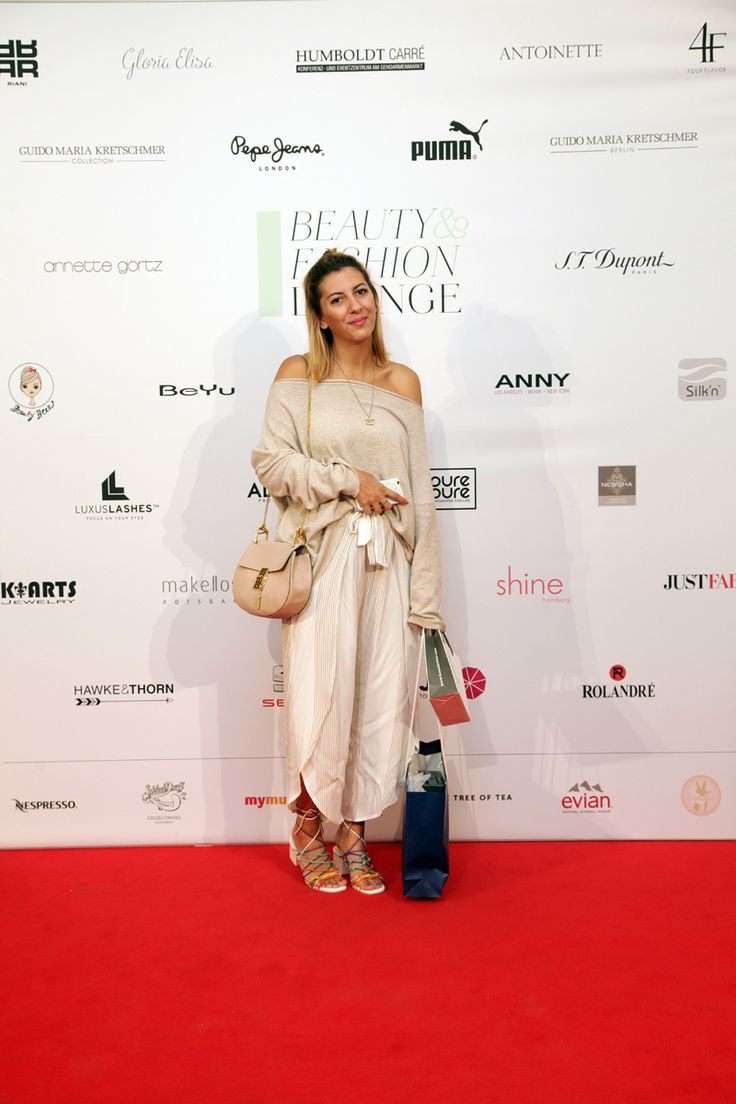 Aylin König bei der Beauty&Fashion Lounge/Gentlemen Corner. © REICHERT+ COMMUNICATIONS